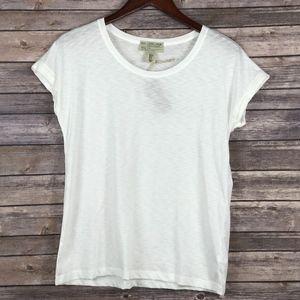 500 Denim Maison Cinqcent Tops - 500/Denim Maison Cinqcent White T Shirt S